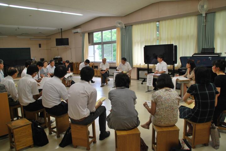 第23回「茨城県生活科・総合的学習の教育を語る会」研修会