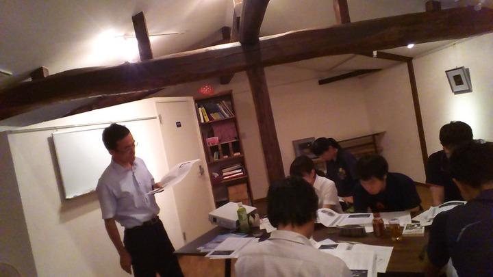石川県の中学教師サークル「Mush」(マッシュ)8月例会