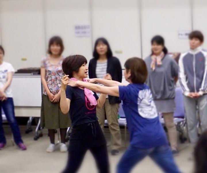 女子校でも好評の 女子のための護身プログラム Wen-Do体験会