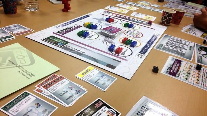 ラックの「サイバーセキュリティボード」体験をしよう~ゲーム形式の学習教材体験
