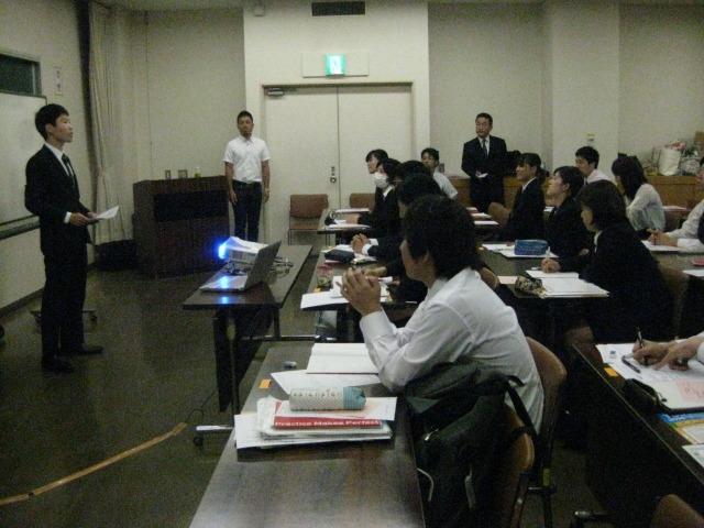 教員採用対策 模擬授業面接会場