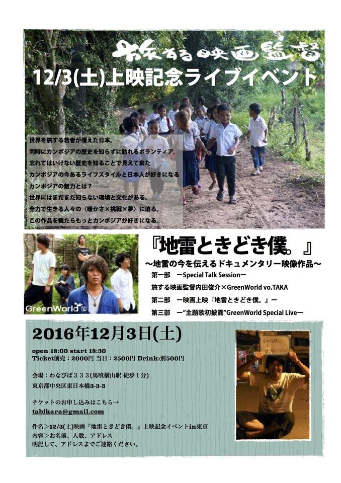 【カンボジアの地雷が埋まる村へ密着】映画のない場所で、映画を作り届ける。旅する映画監督の自主映画上映会!カンボジアのもう一つの物語