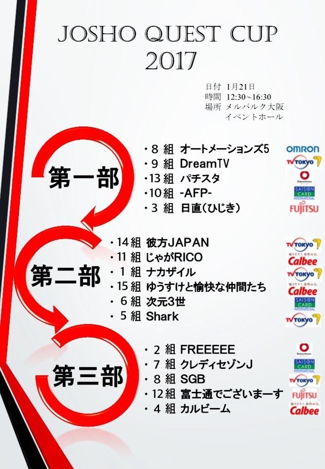常翔学園高校 クエストカップ2017 開催