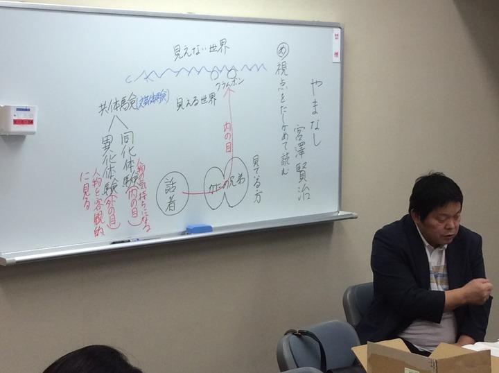 文芸研枚方サークル「国語の教室」H29年度①