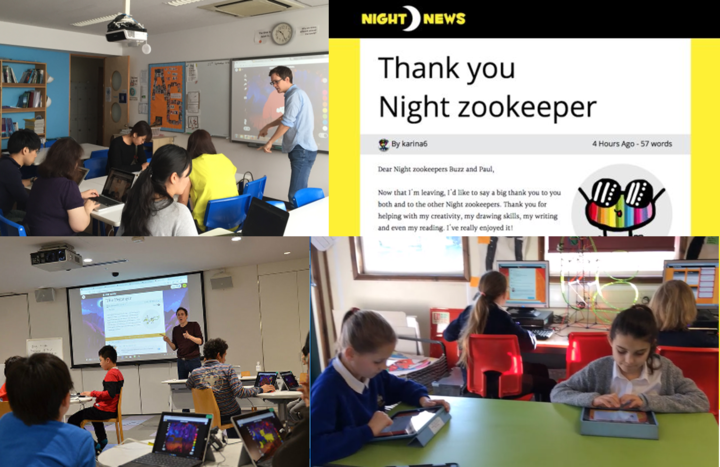 英語ICTアクティブラーニング「ナイトズーキーパー」ワークショップ(Innovate Your Classroom!)