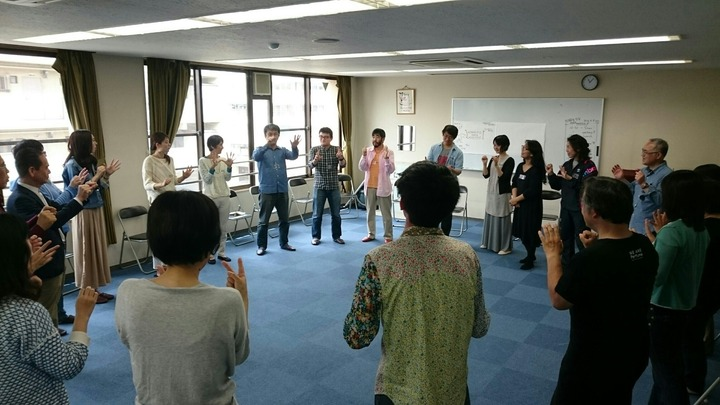インプロバイザーとつくるワークショップ  即興型学習研究会