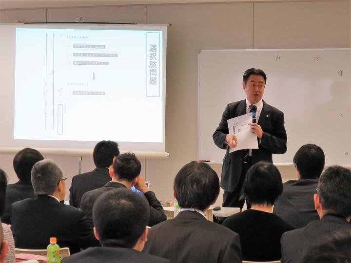 第2回 椿原正和の全国学力・学習状況調査をふまえた授業改善セミナーin札幌