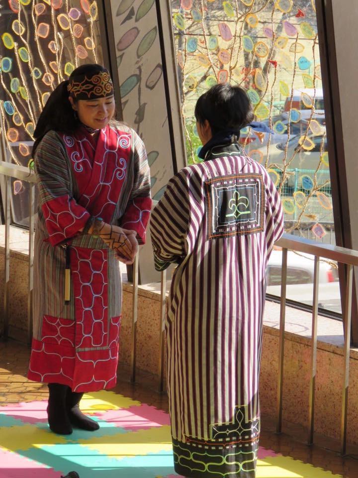■笑顔で隣人に~アイヌ民族の伝統と文化(藤戸ひろ子さん/ミナミナの会)