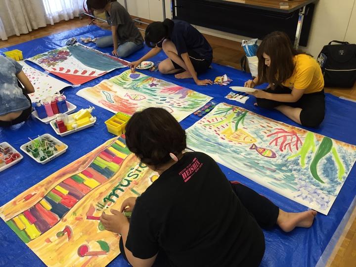 描画造形講習『100色絵の具でカラフルお絵かき~手作りの色でぺたぺた描こう~』 子どものやる気を引きだすセミナー実技講習会2018 ※日程変更しました!