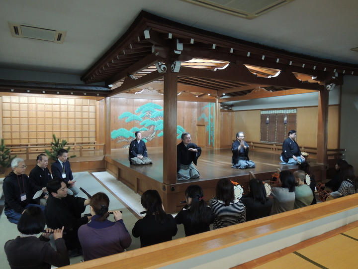 参加費無料「能楽体験教員セミナー」(長野)