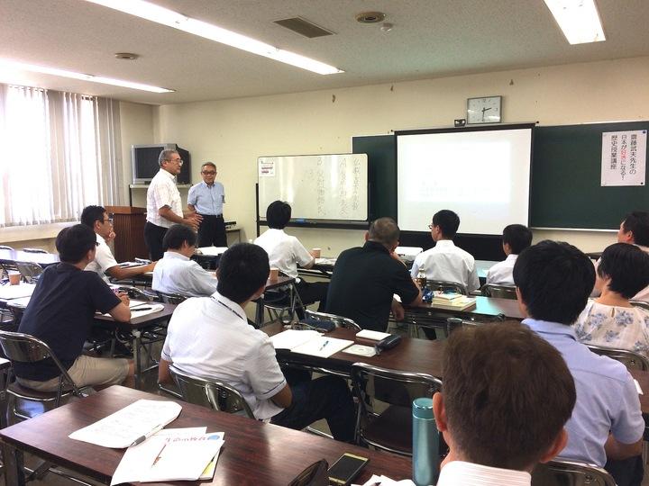 第3回 齋藤先生の日本が好きになる!歴史授業講座 in 新潟