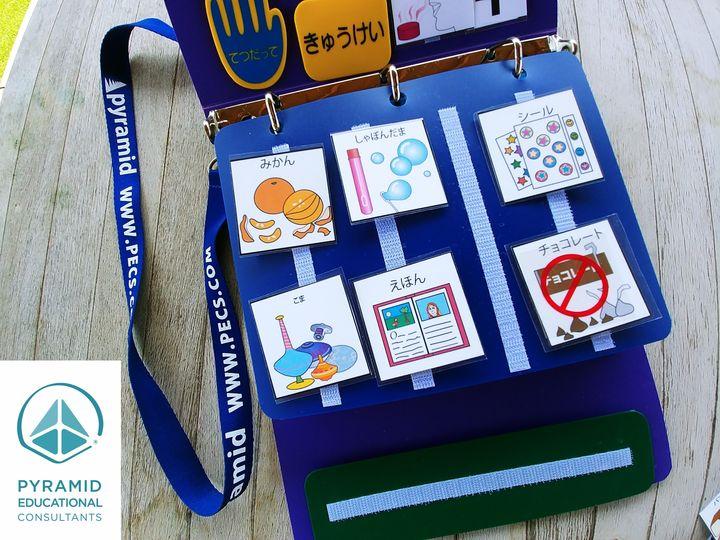絵カード交換式コミュニケーション(PECS®)ワークショップ 山口市で開催