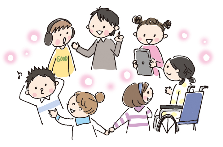 教室にいる発達障害の子ども達「コミュニケーション」