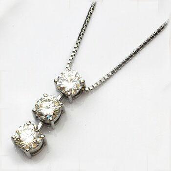 PT900/850 ダイヤモンドネックレス
