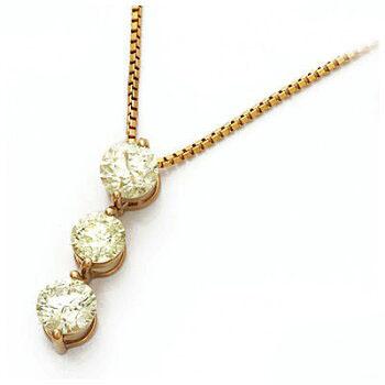 K18PG ダイヤモンドネックレス