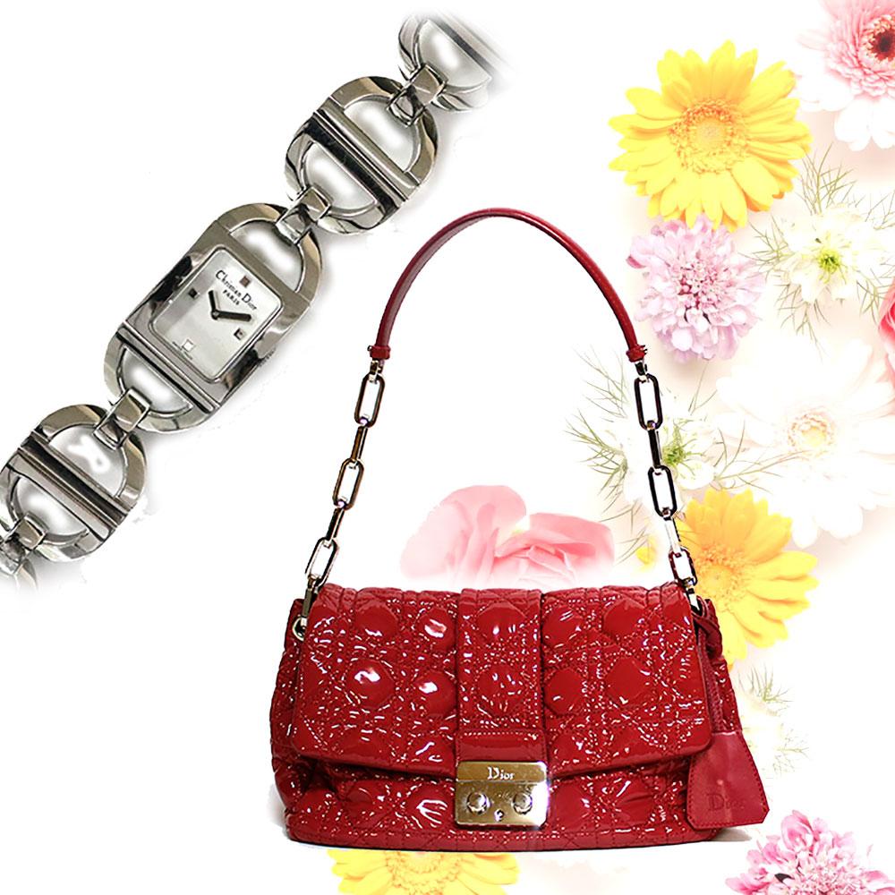 【Set Coordinate】Diorショルダー&ウォッチ