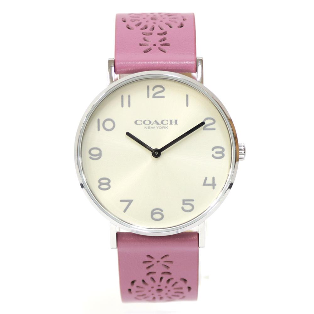 時計 ステンレス レザー 【腕回り約14.5-19cm】