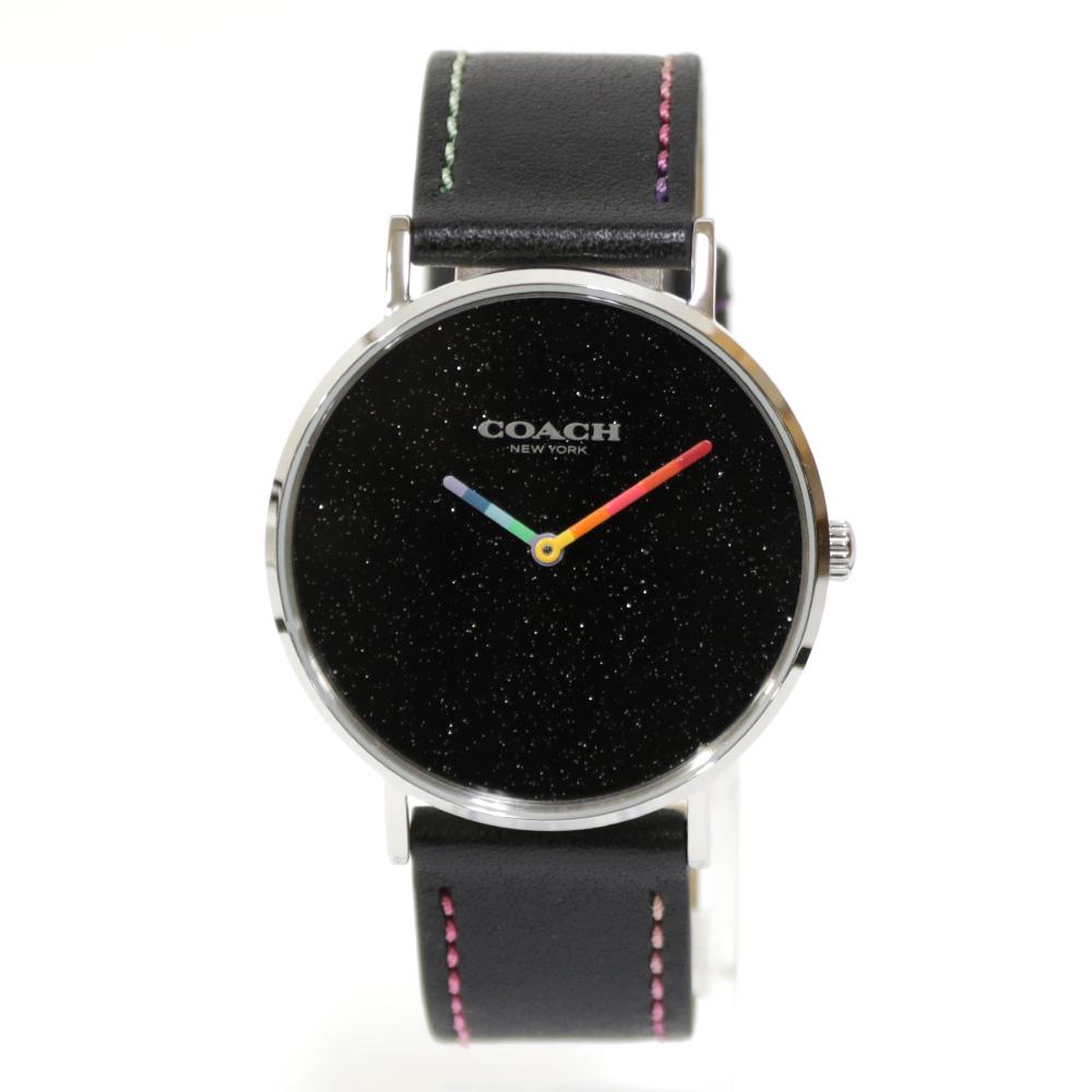 時計 ステンレス レザー【腕回り約14.5-19cm】