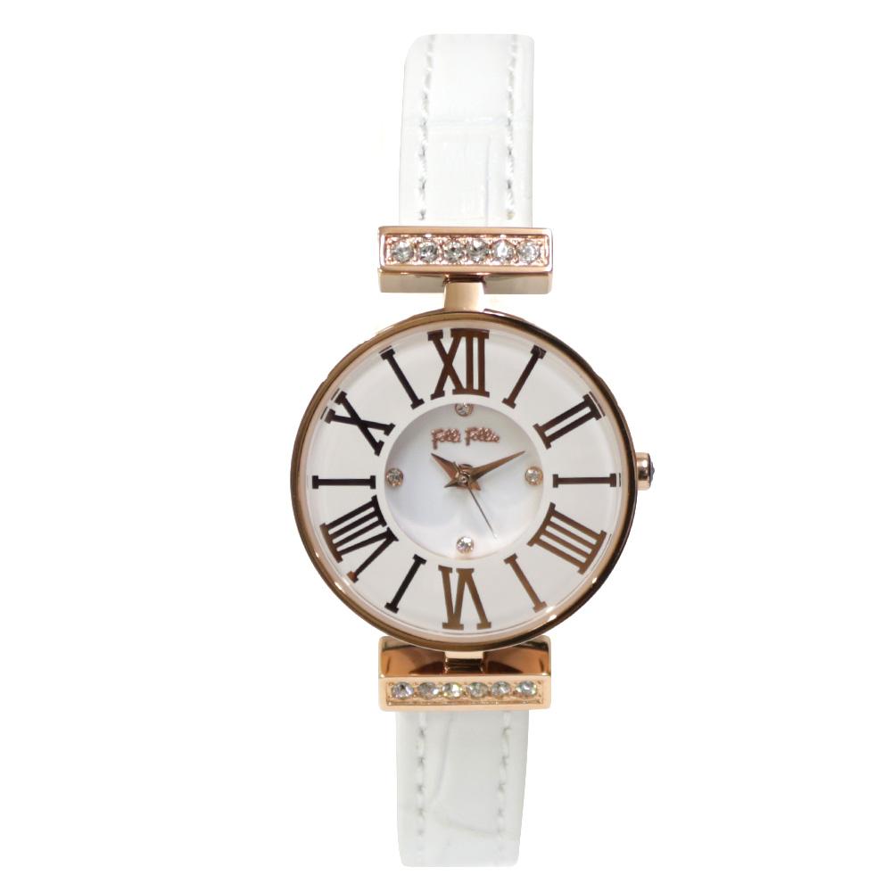 時計 ステンレス レザー ミニダイナスティ【腕回り約13.8-18cm】