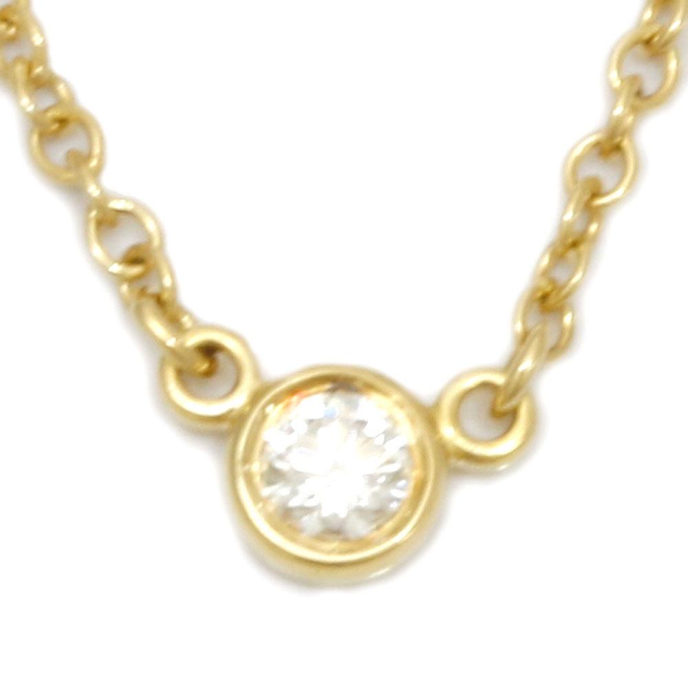 K18 ダイヤモンドバイザヤード ネックレス