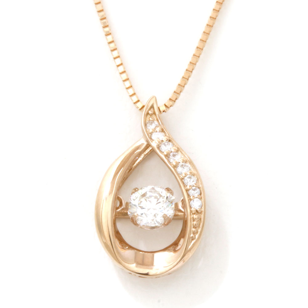 K18PG ダイヤモンド ネックレス