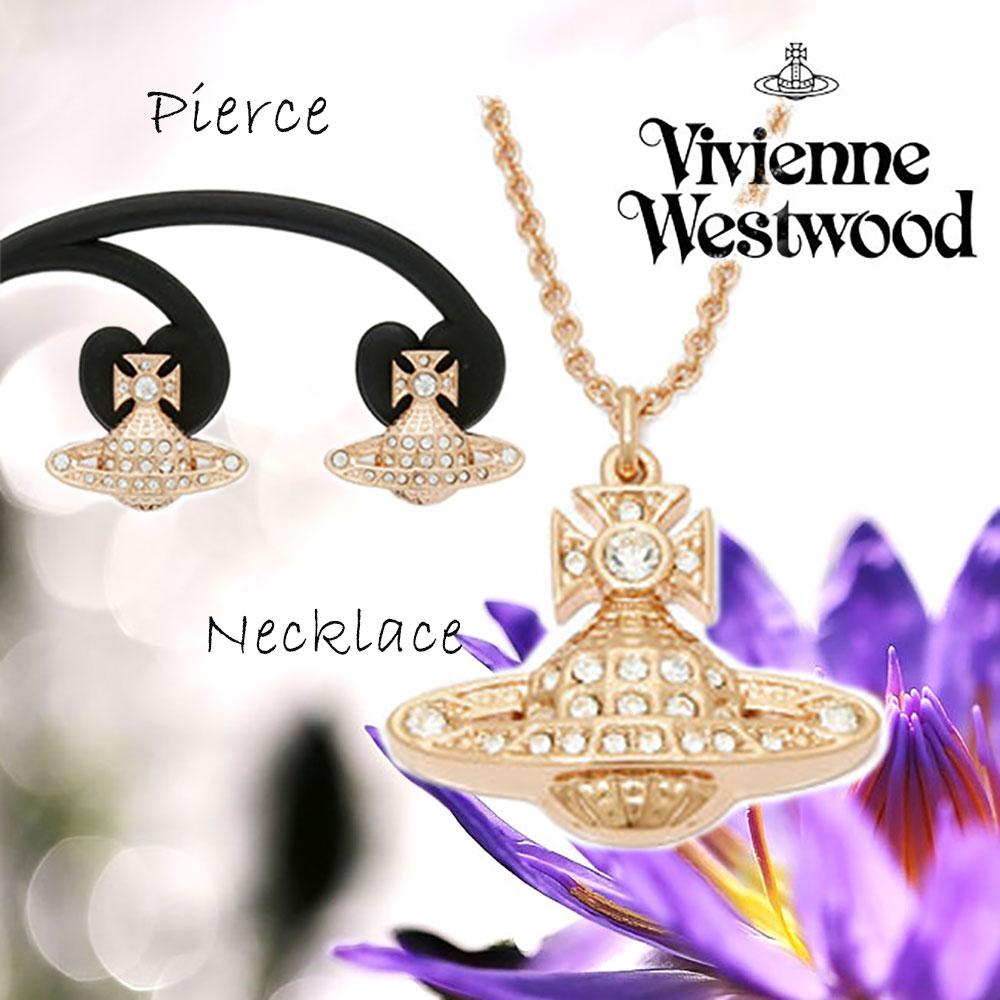 【Set Jewelry】 Vivienne Westwoodネックレス&ピアス