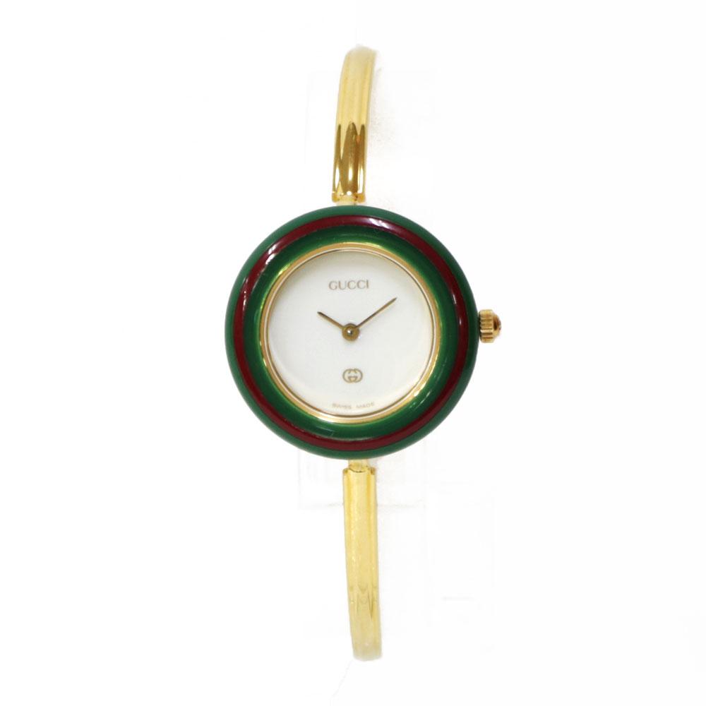 時計 GUCCI チェンジベゼル12色 11/12 【腕回り約16.0cm】