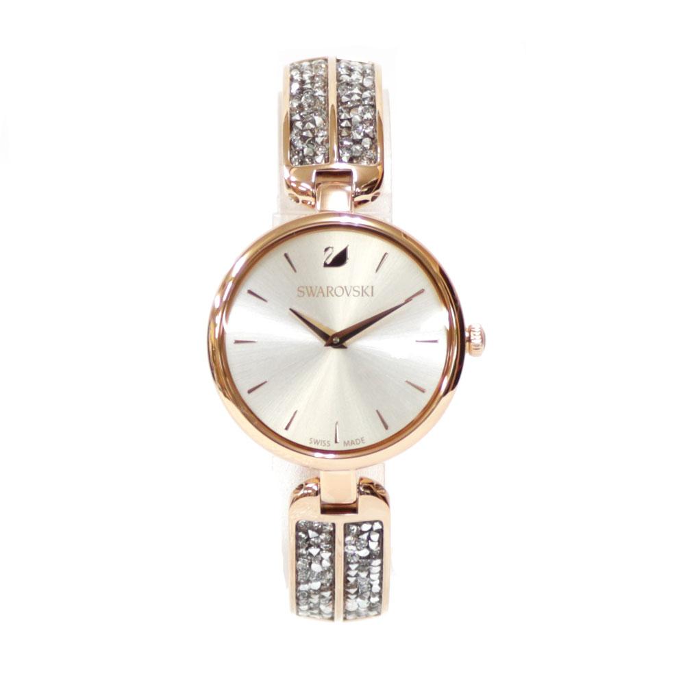 時計 SWAROVSKI Dream Rock ステンレス【腕回り約17.0cm※サイズ調整承ります】