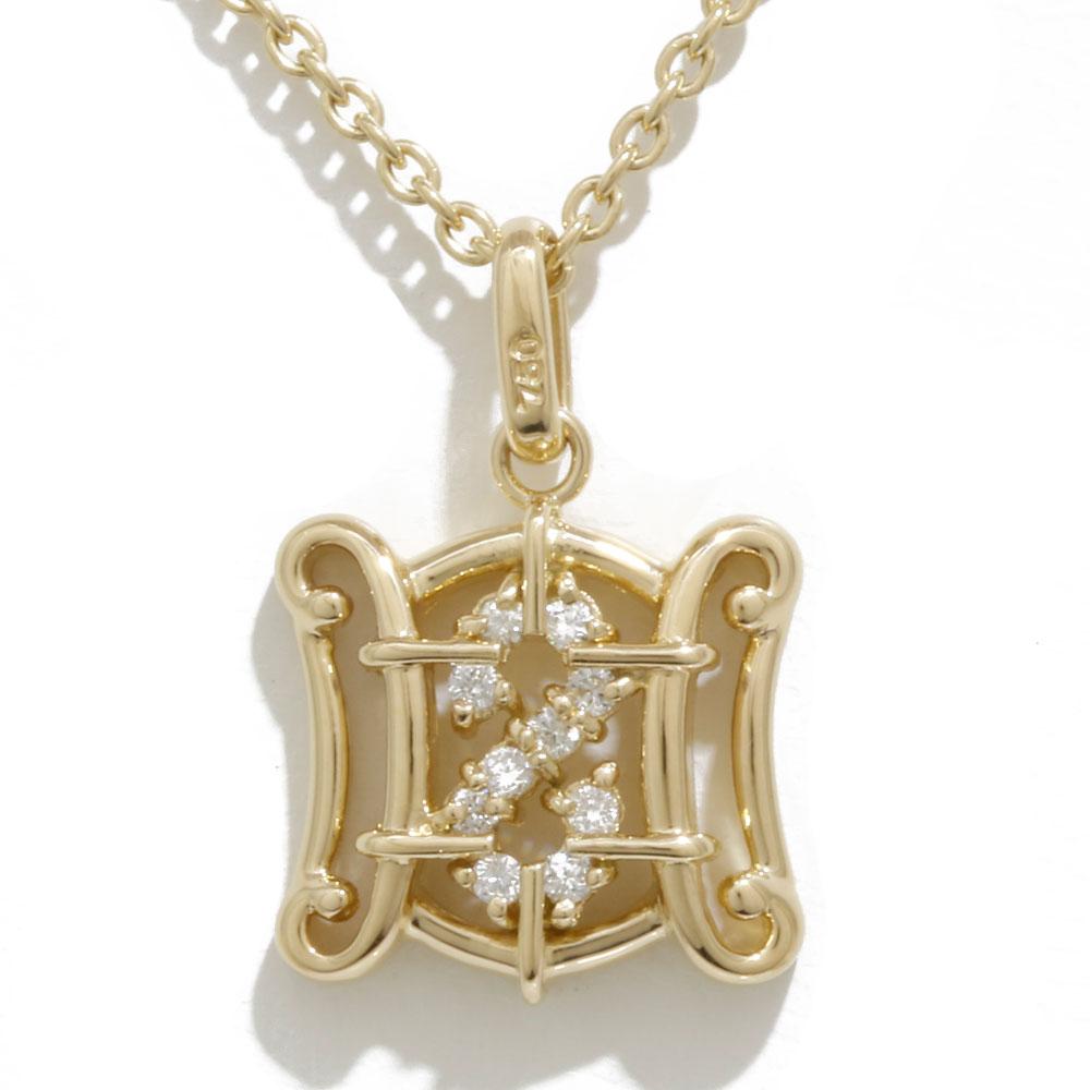 K18 ダイヤモンド ネックレス