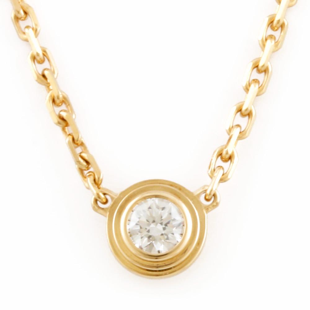 K18 ディアマンレジェ ダイヤモンド ネックレス