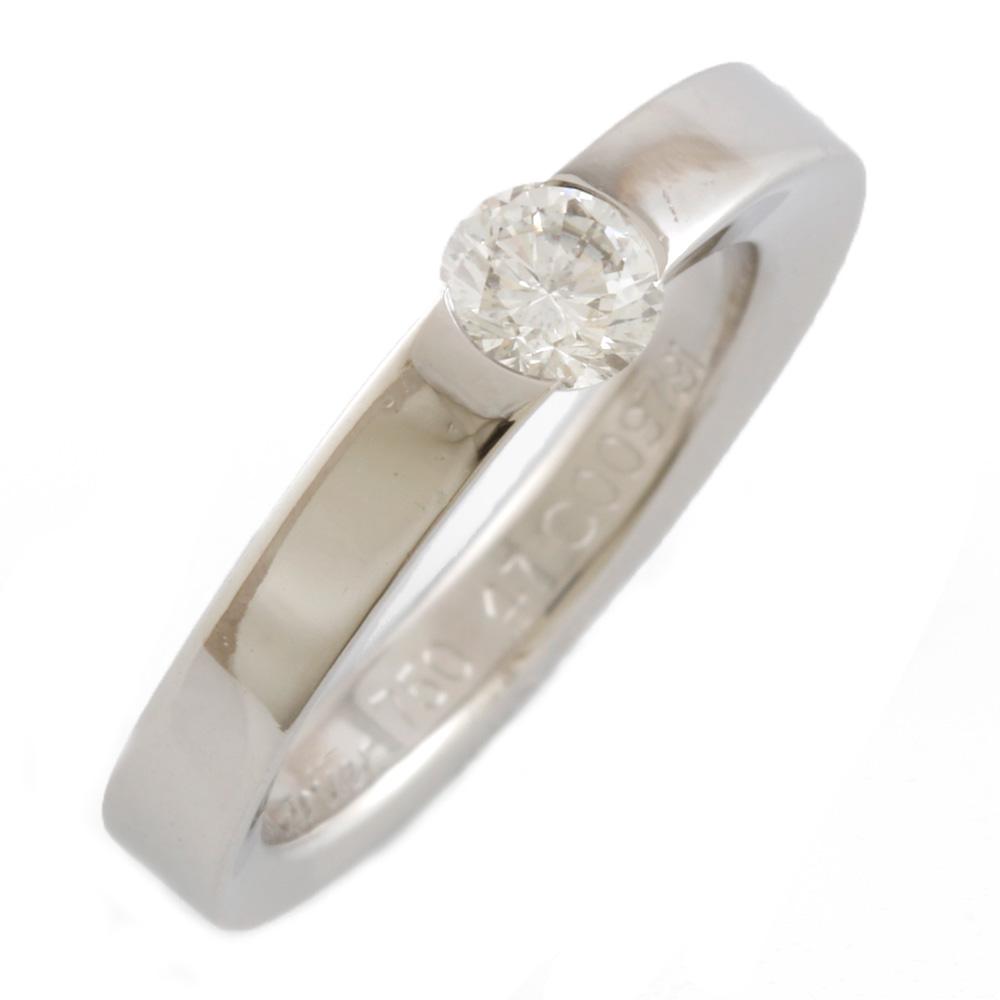 K18WG ダイヤモンド デートウィズ リング #47【7号】
