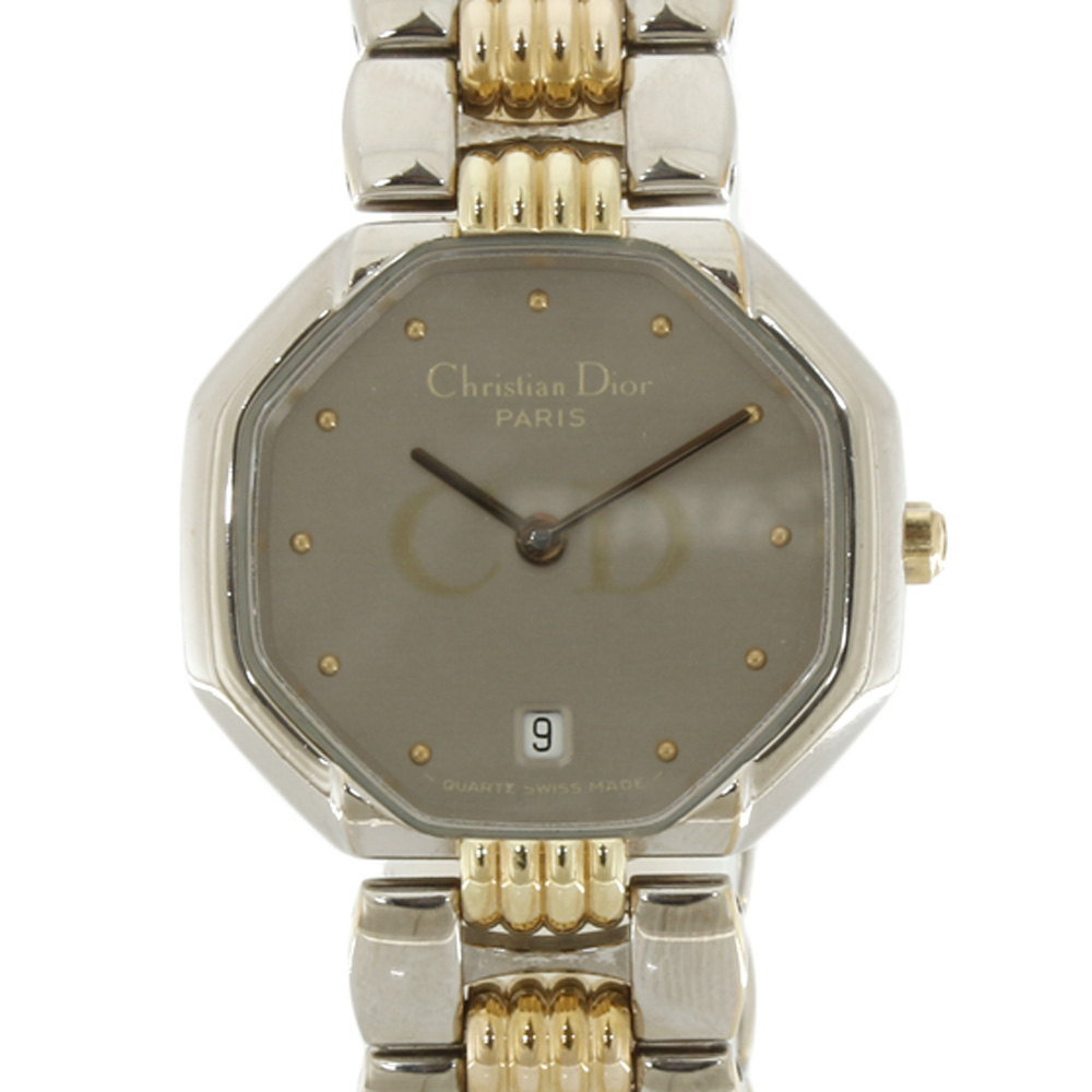 時計 デポーズ デイト オクタゴン【腕回り約16.5cm】
