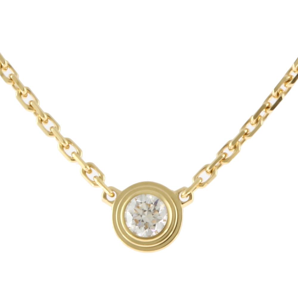 K18 ダイヤモンド ディアマンレジェ ネックレス