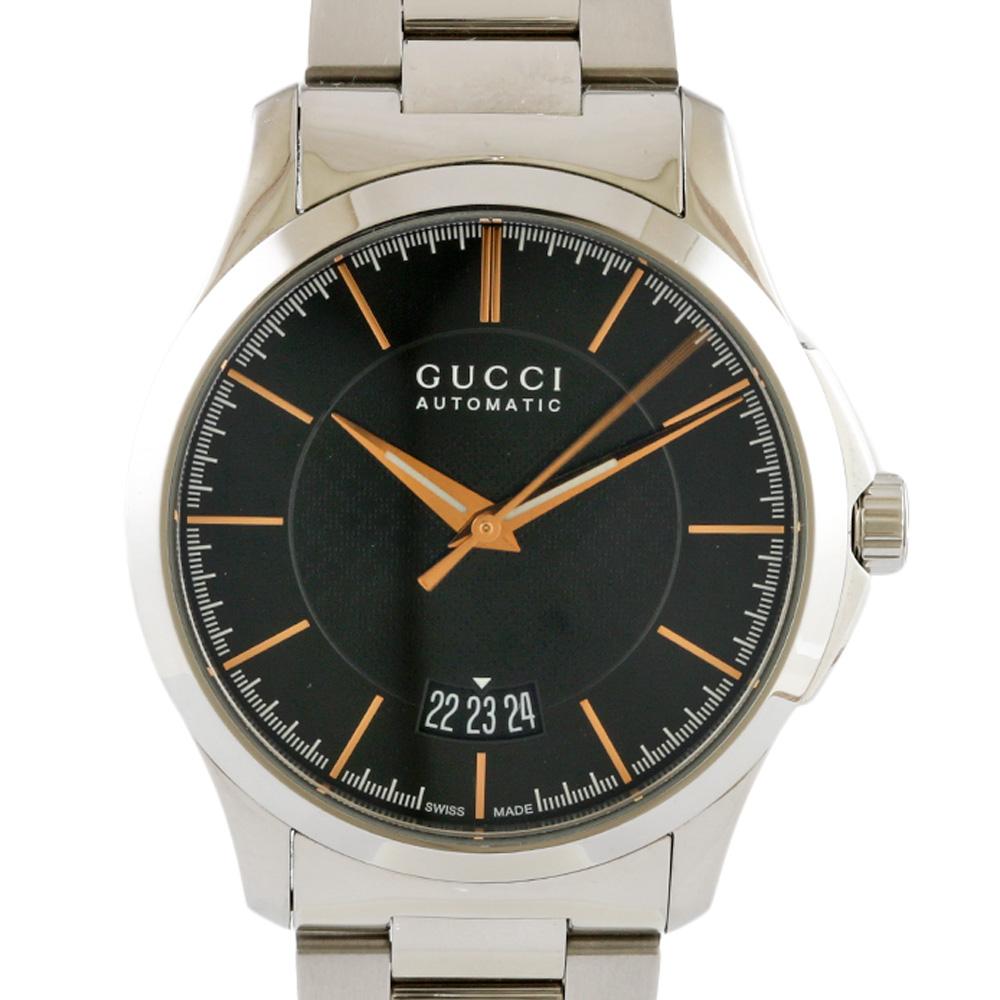 時計 GUCCI Gタイムレス オートマチック【腕回り約18.5cm】