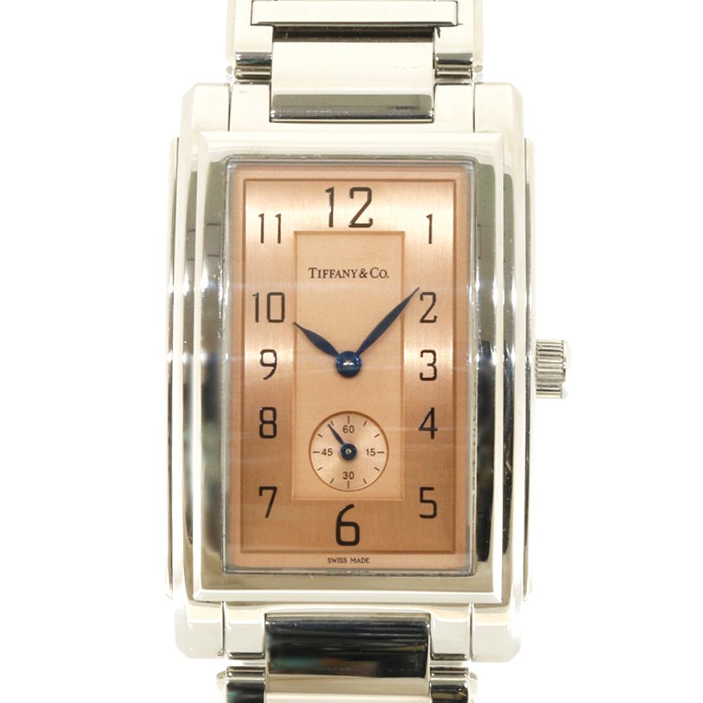 時計 TIFFANY&Co グランド レクタンギュラー【腕回り約18.5cm】