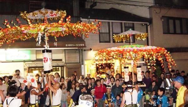 Hanagasa procession