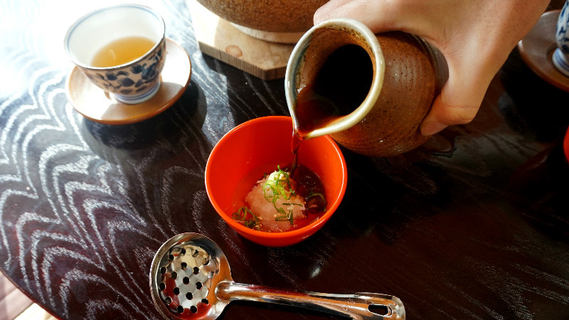 Dipping sauce for Yu-dofu