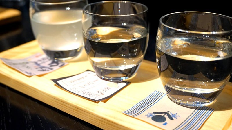 3 Kinds of Sake Tasting