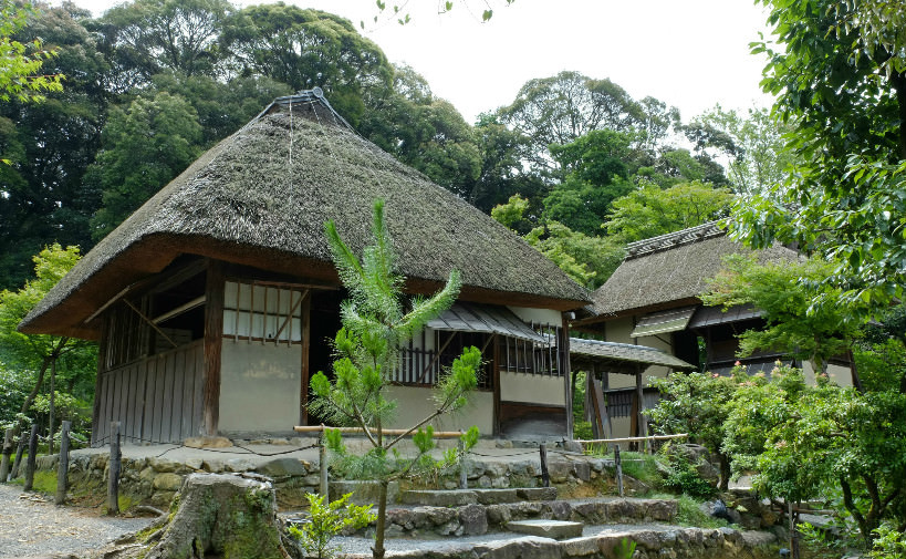 Compare The Kasa-tei And The Shigure-tei With The Other Tea Houses