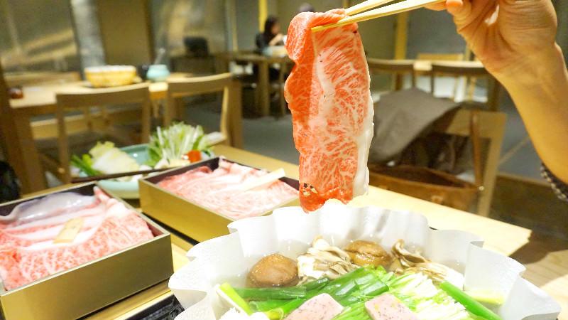 近江牛沙朗涮涮鍋套餐