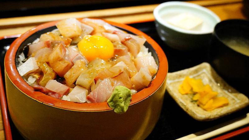 本日海鮮定食