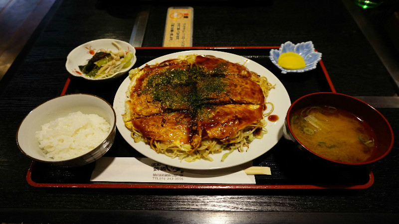 廣島燒套餐