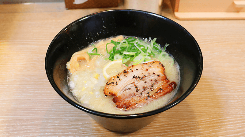 Tori tonkotsu ramen (salt flavor / large)