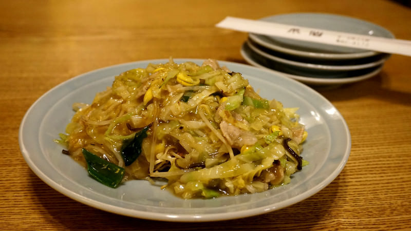 Ankake yaki soba(炒麵)