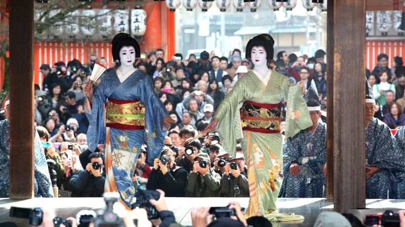 A Dance Offering by the Maiko and Geiko of Ponto-cho