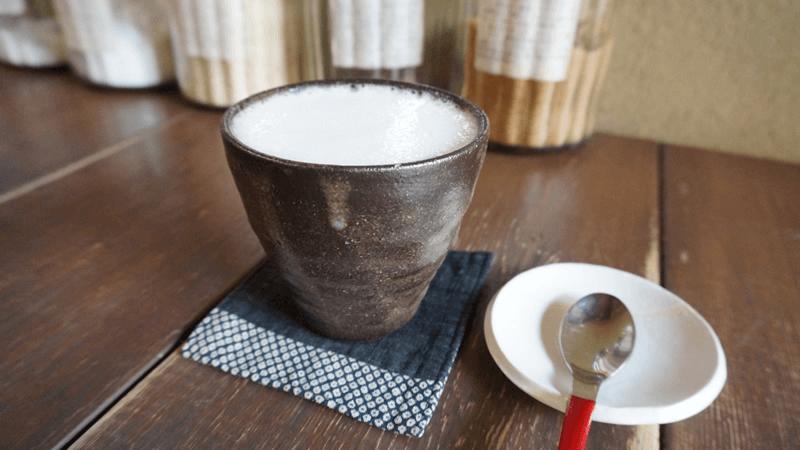 AWAYUKI Coffee with Vanilla syrup