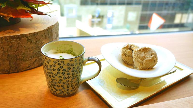 提供京都風的甜點和飲品