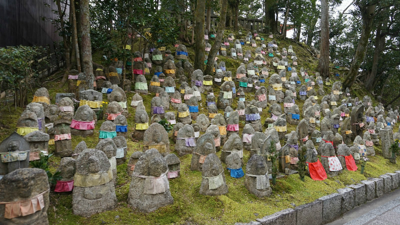 Look for the Ojizo-sama statues