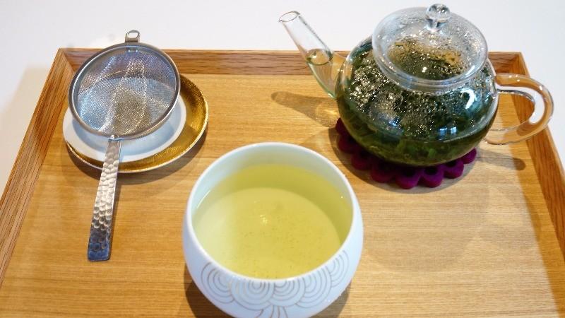 Traveling Japanese tea Deep Forest Gyokuro