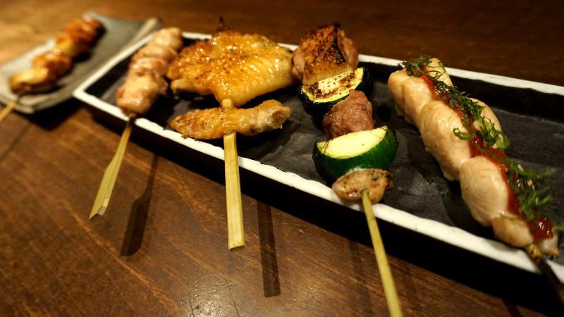 Assorted Yakitori Sticks